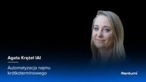 Agata Krężel, szefowa działu sprzedaży, IAI, IdoSell Booking - wizerunek